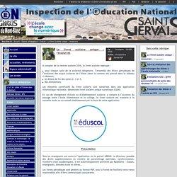 IEN St Gervais / Pays du Mont-Blanc - Le livret scolaire unique : ressources