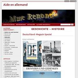 Geschichte - Histoire - Aide en allemand