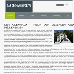 Die Geschichte des Odenwaldes