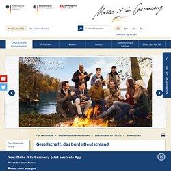Make it in Germany: Deutschland im Porträt - Gesellschaft etc.