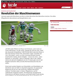 Robotik und Gesellschaft: Revolution der Maschinenwesen