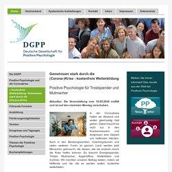 Deutsch Gesellschaft für Positive Psychologie