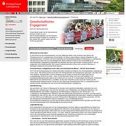 Gesellschaftliches Engagement - Unsere gemeinnützigen Projekte und Förderungen - Kreissparkasse Ludwigsburg