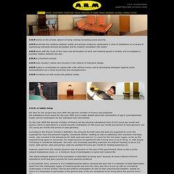 konzept > barbara caveng: A.R.M - ein performatives gesellschaft