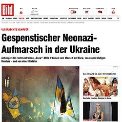 """""""Asow""""-Miliz: Gespenstischer Neonazi- Aufmarsch in der Ukraine"""