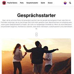 Gesprächsstarter & Eisbrecher