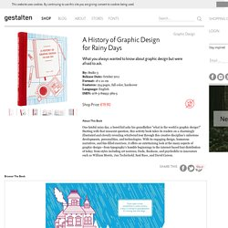 A History Of Graphic Design for Rainy Days