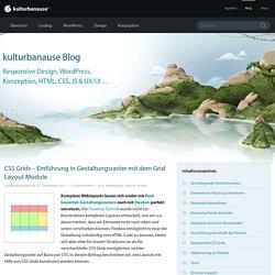 CSS Grids – Einführung in Gestaltungsraster mit dem Grid Layout Module