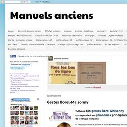Gestes Borel-Maisonny