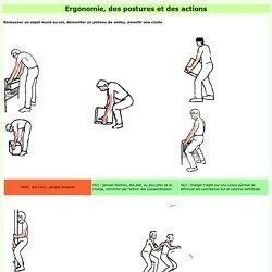 gestes et postures ergonomiques