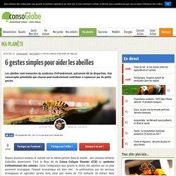 5 manières d'aider les abeilles