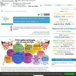 10 éco-gestes pour des usages numériques plus légers !