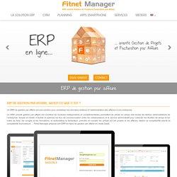 ERP de gestion par affaire - Fitnet Manager
