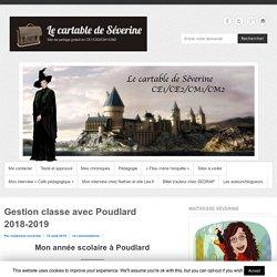 Gestion classe avec Poudlard 2018-2019