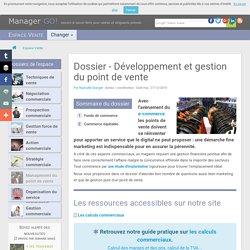 Gestion du point de vente et commerce traditionnel : outils