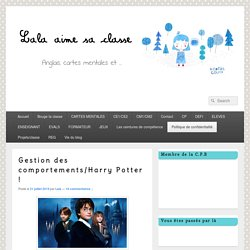 Gestion des comportements/Harry Potter !