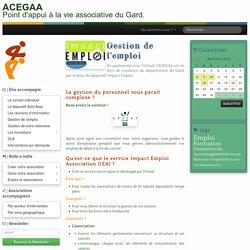 Gestion de l'emploi - ACEGAA