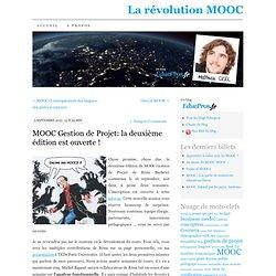 MOOC Gestion de Projet: la deuxième édition est ouverte !