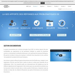 Gestion Documentaire - GED.fr