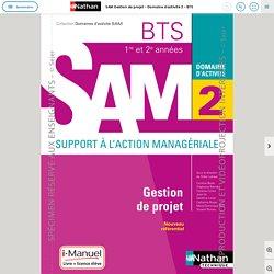 SAM Gestion de projet - Domaine d'activité 2 - BTS