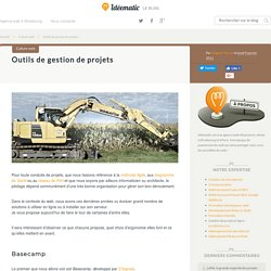 Outils de gestion de projets - Agence web Idéematic à Strasbourg