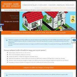 Gestion des Images pour le web et dans Wordpress