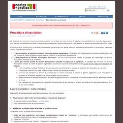 Centre de Gestion de Saône et Loire - Se pré-inscrire à un concours