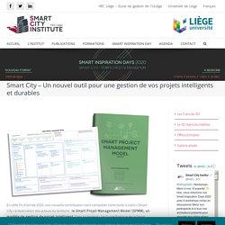 PP -Smart City - Un nouvel outil pour une gestion de vos projets intelligents et durables