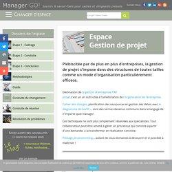 Gestion de projet : enjeux, méthodes, outils... - Espace dédié