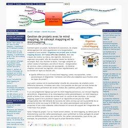 Gestion de projets avec le mind mapping, le concept mapping et le storymapping
