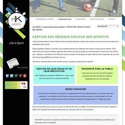 HK Sports - Gestion des réseaux sociaux des sportifs