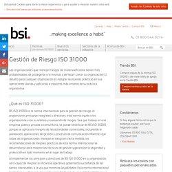 Gestión de Riesgo ISO 31000