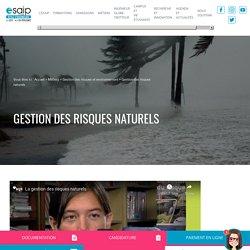 Gestion des risques naturels - ESAIP