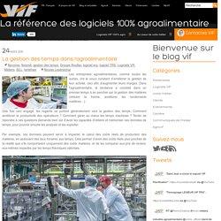 La gestion des temps dans l'agroalimentaire - VIF