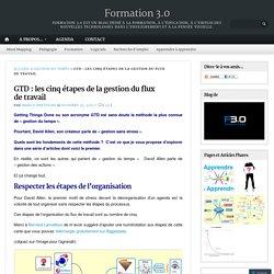 GTD : les cinq étapes de la gestion du flux de travail
