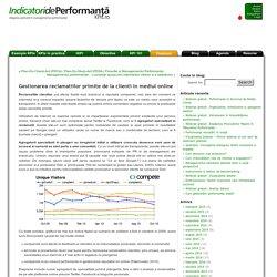 Gestionarea reclamatiilor primite online - Blog Indicatori de performanta Blog Indicatori de performanta