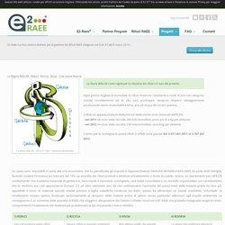 E2-Raee® Gestione RAEE da Uno contro Uno - La regola delle 4R - Riduci - Ricicla - Riusa - Crea nuove Risorse -