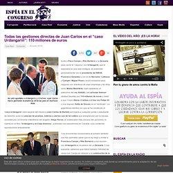 """Las gestiones directas de Juan Carlos en el """"caso Urdangarin"""""""