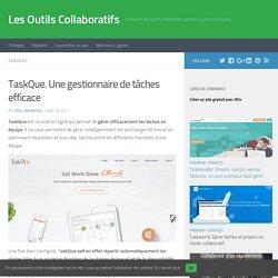 TaskQue. Une gestionnaire de tâches efficace – Les Outils Collaboratifs