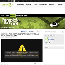 Création d'activité : le commerce en ligne - 13/02/2014 - News et vidéos en replay - L'emploi par le net