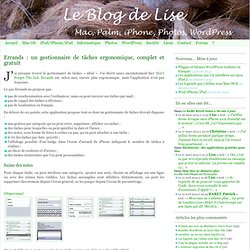 Le Blog de Lise
