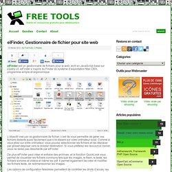 elFinder, Gestionnaire de fichier pour site web