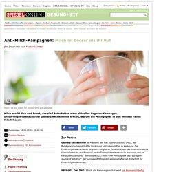 Anti-Milch-Kampagnen: Milch ist besser als ihr Ruf - SPIEGEL ONLINE - Nachrichten - Gesundheit