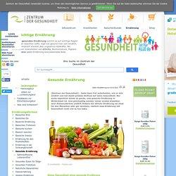 Gesunde Ernährung - Gesund essen