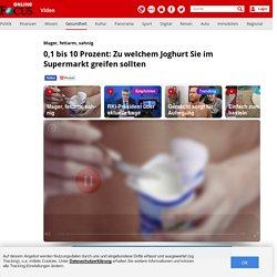Gesunder Joghurt: Darauf kommt es wirklich an - Video