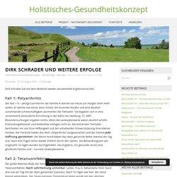 Dirk Schrader und weitere Erfolge – Holistisches-Gesundheitskonzept