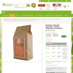 Bio Müsli - Biokraft, glutenfrei, nussfrei, ungesüßt, mit Vitamin C