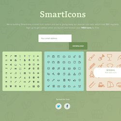 Get 1450 free vector icons for free