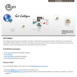 Get Calligra