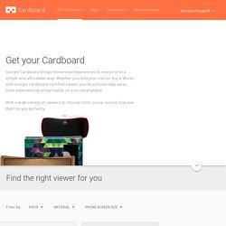 Get Cardboard – Google VR
